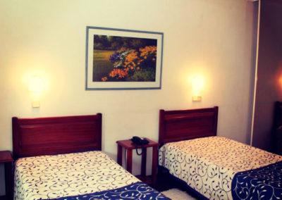 Quarto duplo twin Hotel Oásis Melhada