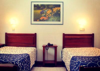 Quarto duplo twin Hotel Oásis Mealhada